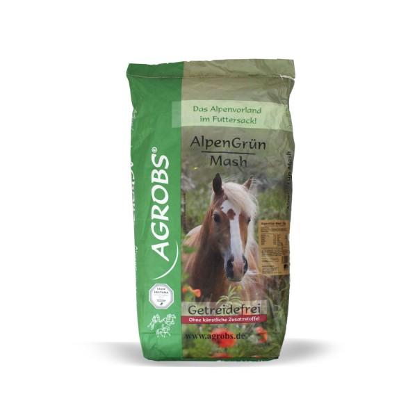 AGROBS Alpengrün Mash 15 kg Getreidefrei