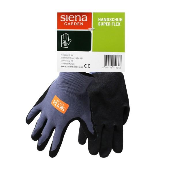 Siena Garden Handschuh Super Flex Gr. 10 Nylon-Micronitrilschaum