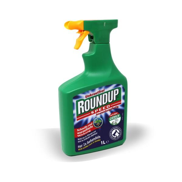 Roundup Speed Unkrautfrei 1 L Sprühflasche