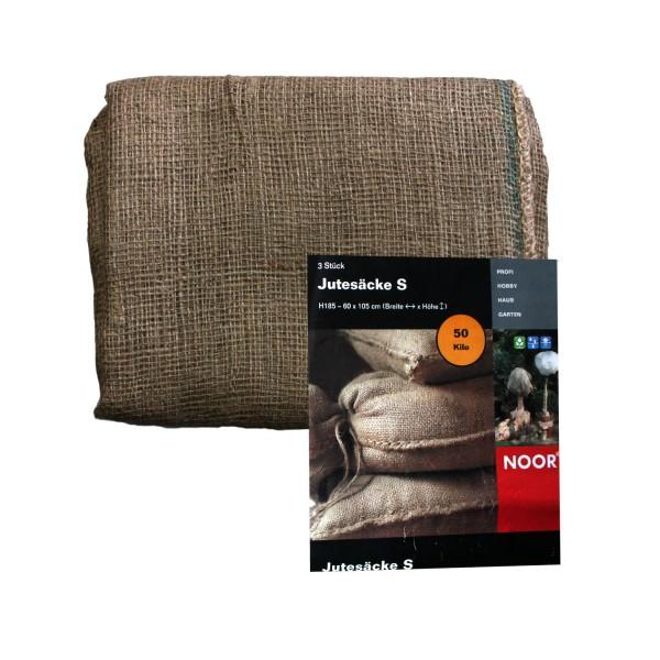 NOOR Jutesäcke S 60x105 cm 3er Pack