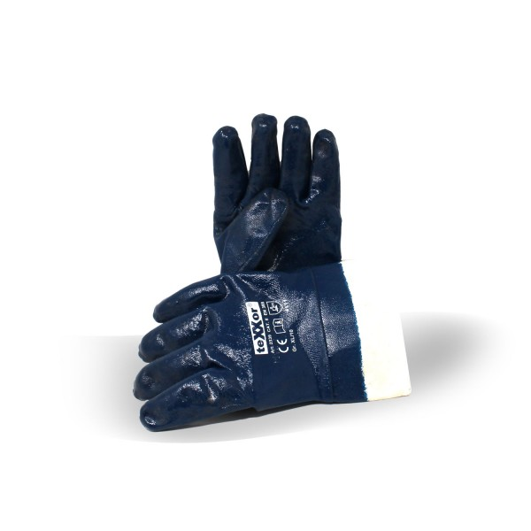 Texxor Ölhandschuh Nitril-Handschuh Cat. II, Gr. 10 blau