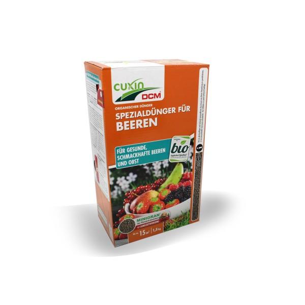 Cuxin DCM Spezialdünger für Beeren 1,5 kg