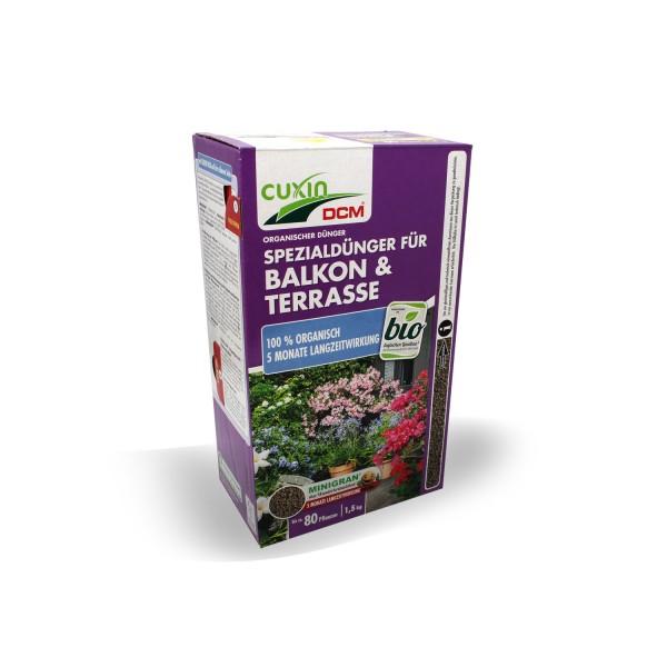 Cuxin DCM Spezialdünger für Balkon & Terrasse 1,5 kg