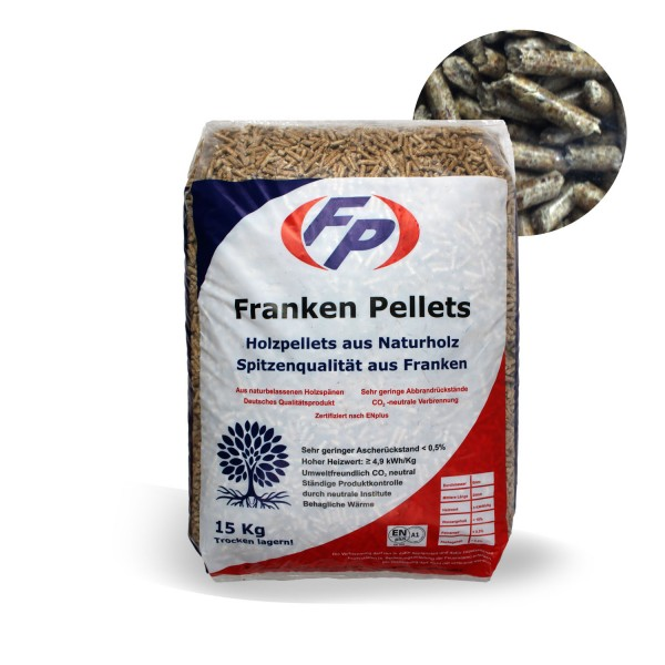 Frankenpellets Holzpellets 6mm 15 kg