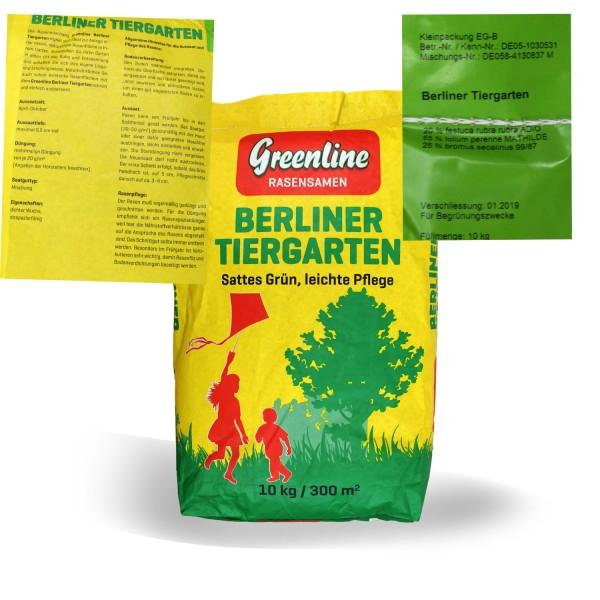 Greenline Berliner Tiergarten Rasensamen 10 kg