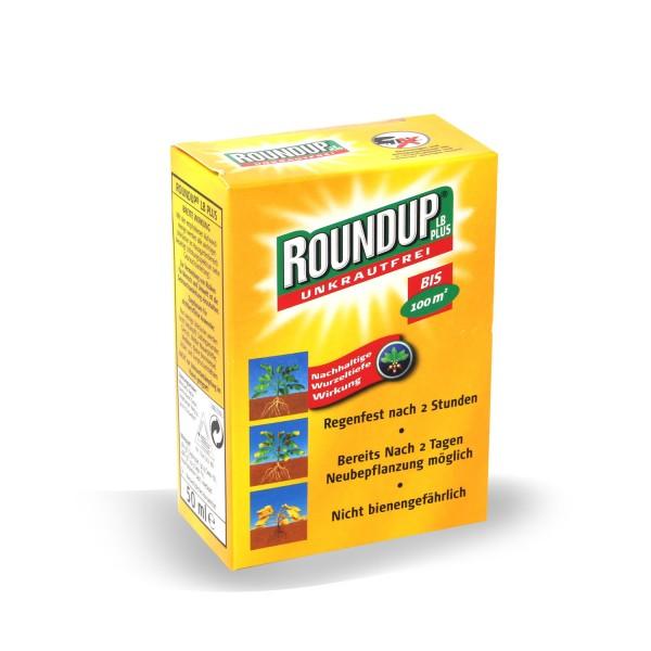 Roundup LB Plus Unkrautfrei 50 ml Konzentrat