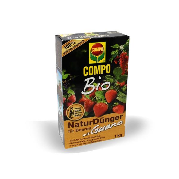 Compo BIO Naturdünger Beeren mit Guano 1 kg