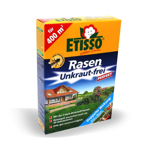 ETISSO Rasen Unkraut-frei PERFEKT 400 ml