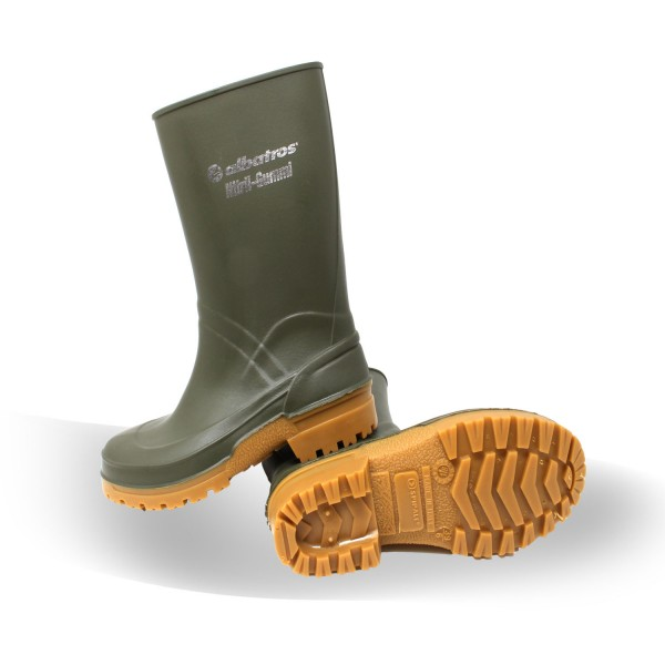 Albatros Guardian HIGH Green Nitril-Gummistiefel
