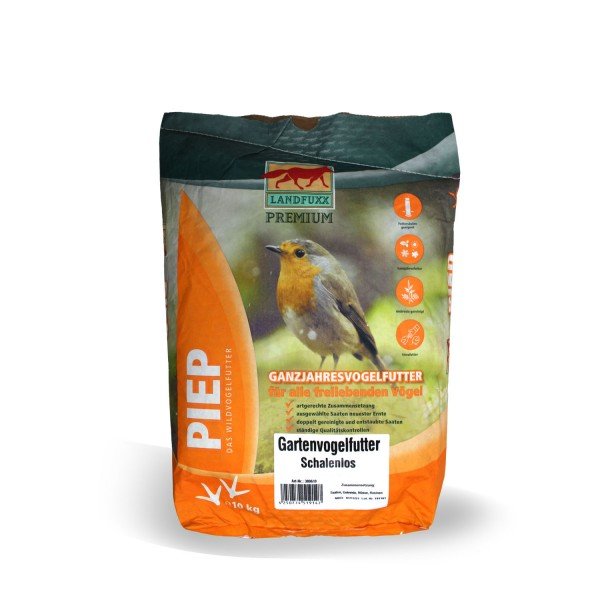 Landfuxx PIEP Gartenvogelfutter 10 kg