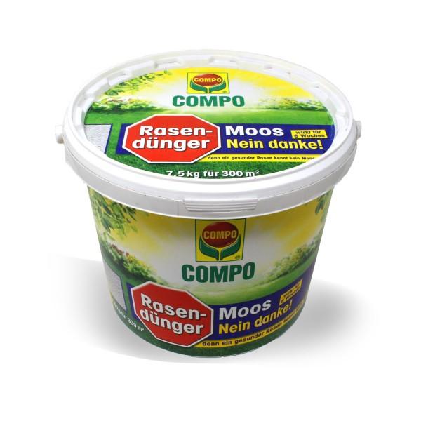 """COMPO """"Moos – Nein danke!"""" Rasendünger 7,5 kg"""