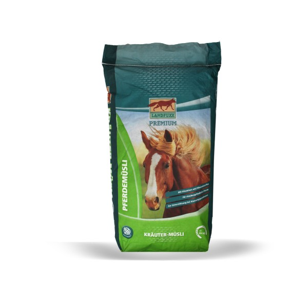 Landfuxx Kräuter-Müsli 20 kg haferfrei