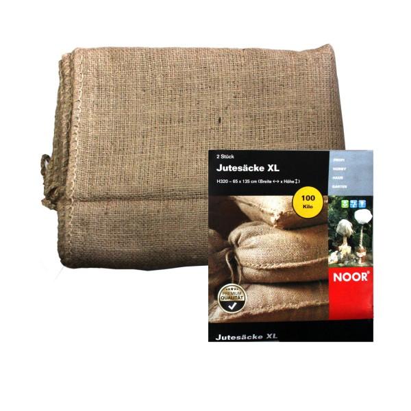 NOOR Jutesäcke XL 65x135 cm 2er Pack