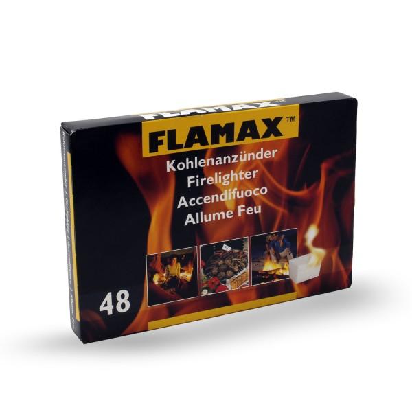 Flamax Kohlenanzünder 48 Stück