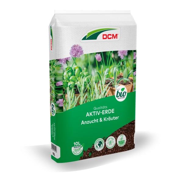 Cuxin DCM Aktiv-Erde Anzucht & Kräuter 10 L BIO