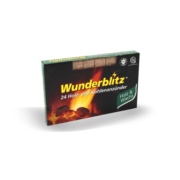 Wunderblitz Holz- und Kohlenanzünder 24 Stk.
