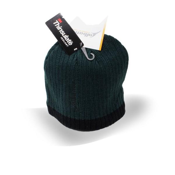 Albatros Winter Pro Strickmütze grün-schwarz