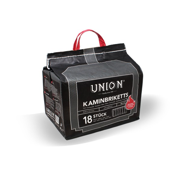 Union Kaminbriketts Kohle 10 kg