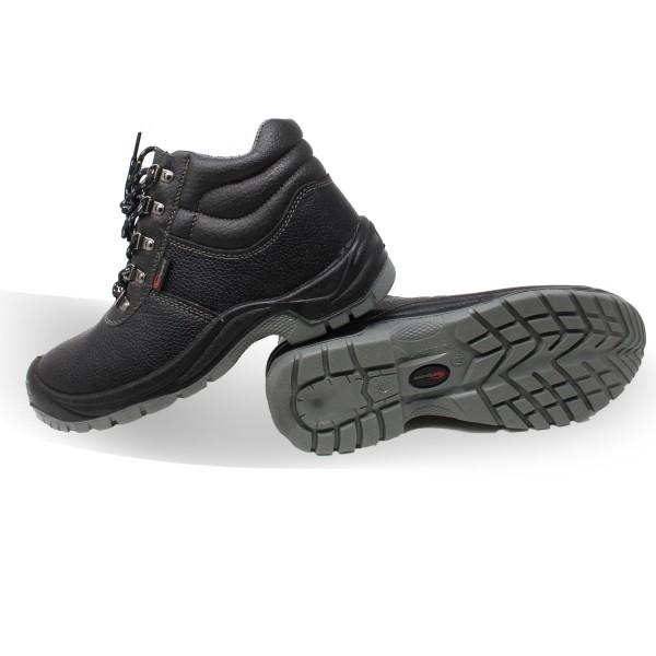 Footguard Solid Mid S3 Sicherheitsschuhe schwarz
