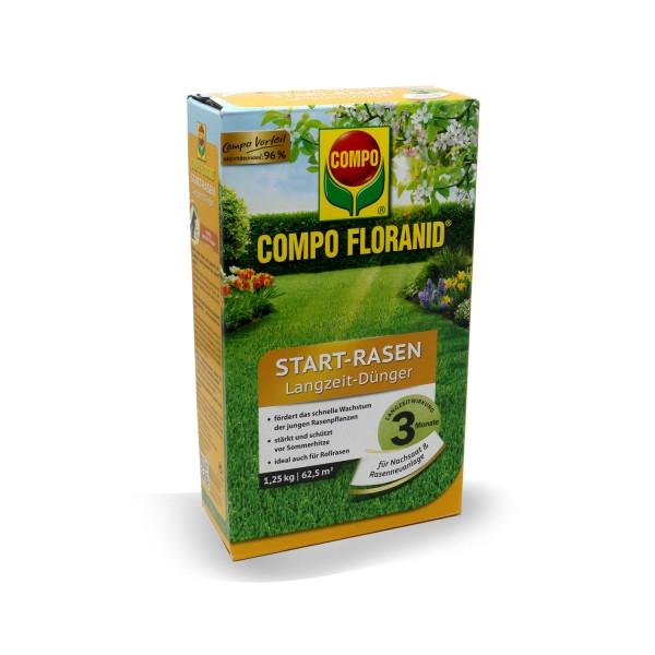 COMPO Floranid START-RASEN Langzeit-Dünger 1,25 kg